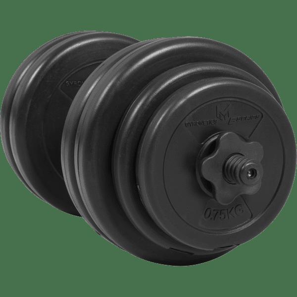 Dumbbell sett 25 mm vinyl 30 kg - Økonomi