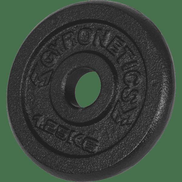 Curlsett - 25 mm stang - Helstøpte vektskiver - 23,5 kg - Økonomi