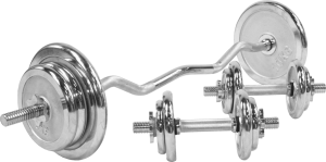 CHROME EZ CURL SET 70KG