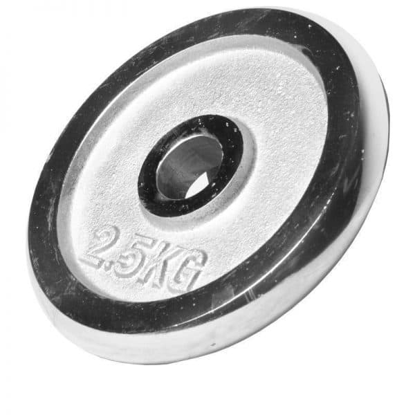 Chrome Dumbbell Vektsett – 30 kg