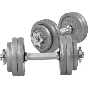 Cast Iron Dumbbell Vektsett – 30 kg