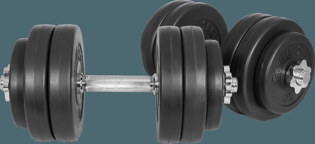 Vinyl Dumbbell Vektsett – 30 kg