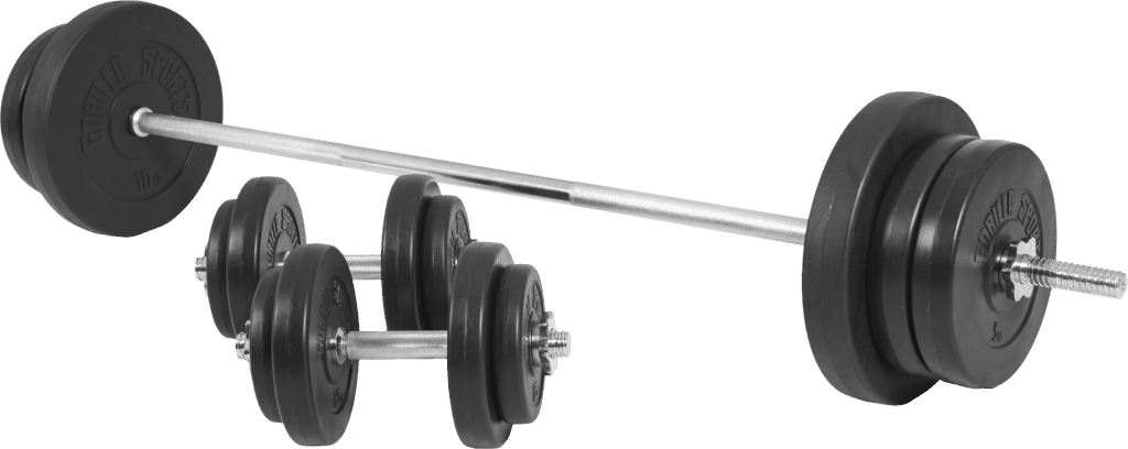 Vinyl Barbell Vektsett – 70 kg