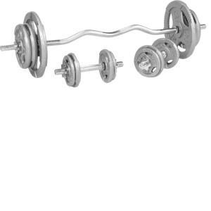 Tri Grip EZ Curl Vektsett – 70 kg