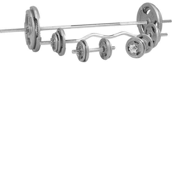 Tri Grip Komplett Vektsett – 108 kg