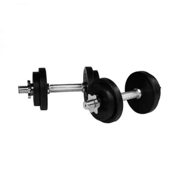 Black Rubber EZ Curl Vektsett – 70 kg