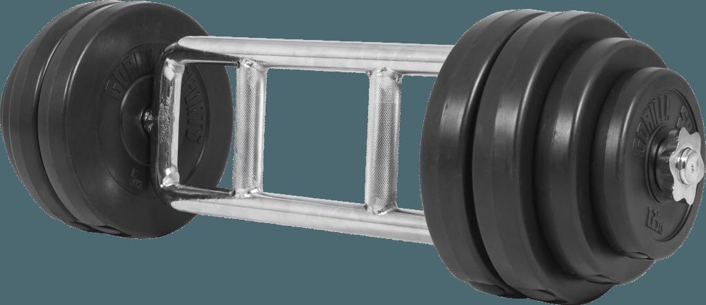 Vinyl Tri Grip Triceps Vektsett - 35 kg