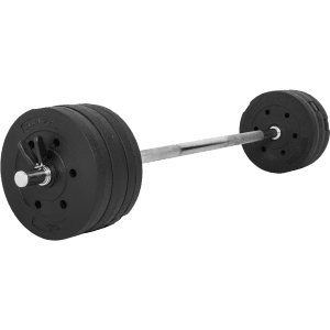 Vinyl Barbell Vektsett – 38 kg