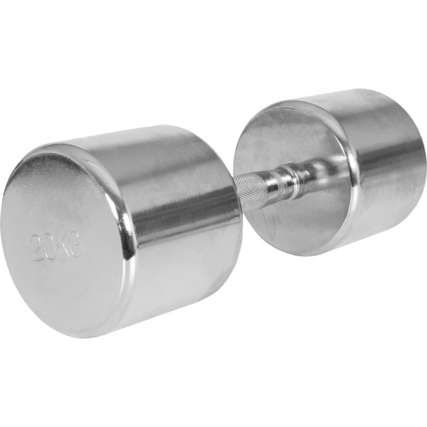 Pair Chrome Fixed Dumbbells 1 kg – 20 kg
