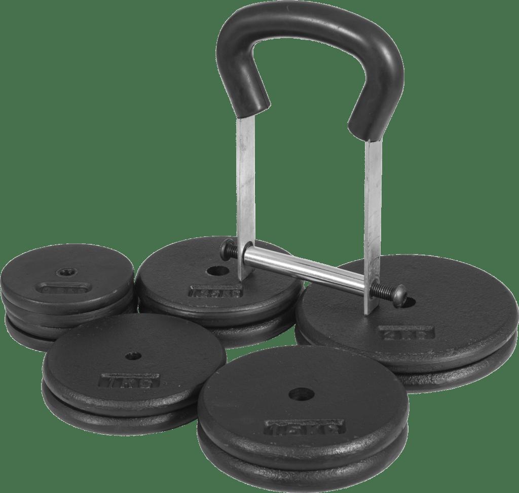 Justerbar Cast Iron Kettlebell