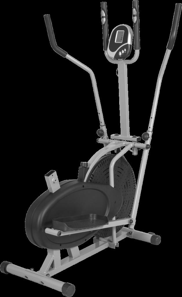 2-i-1 Crosstrainer og treningssykkel