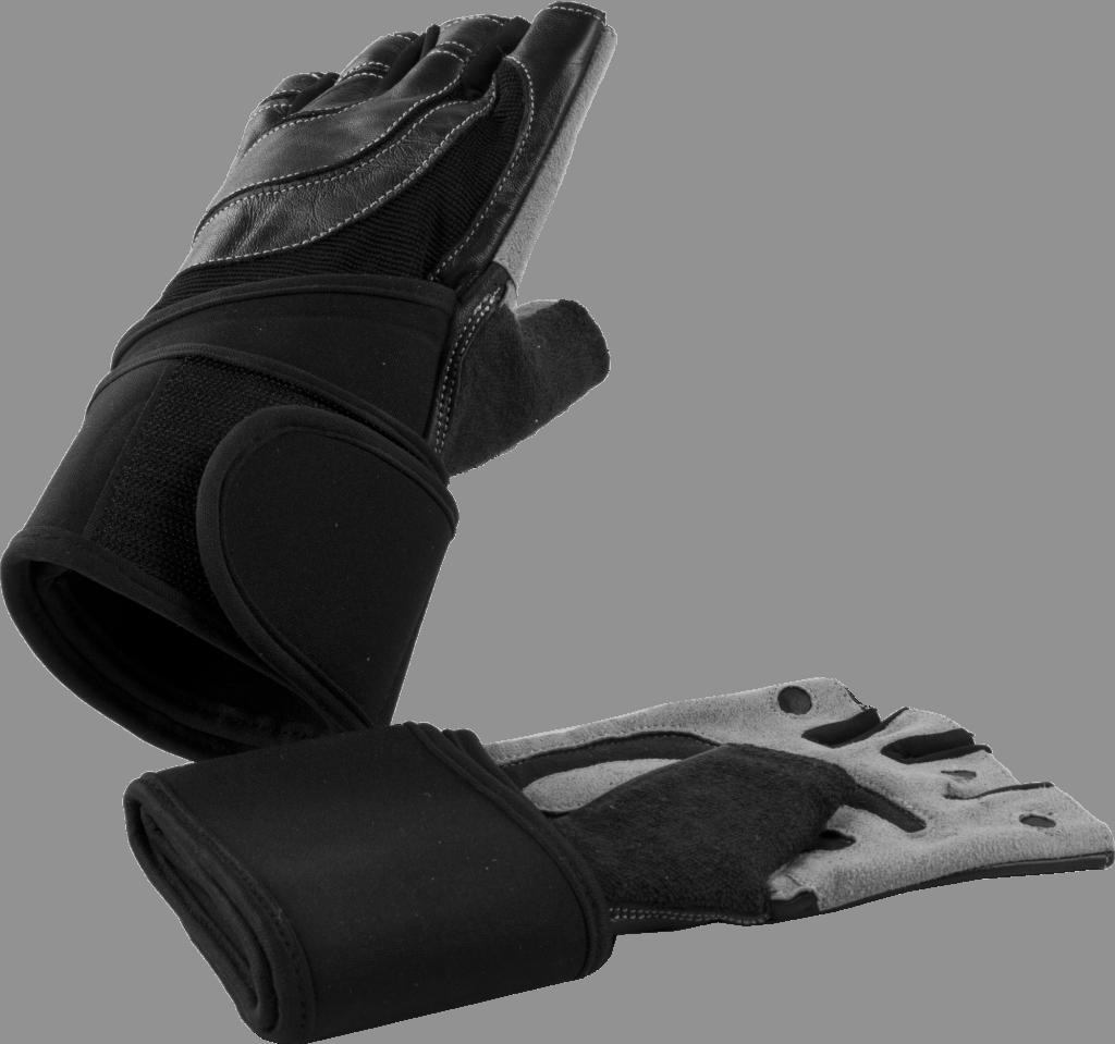 Vektløfterhansker – Med håndleddsstøtte