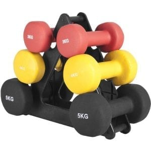 Vinyl Dumbbell Rack