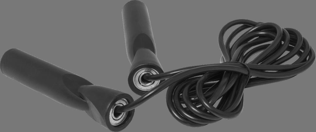 Hoppetau – Sort plastikk