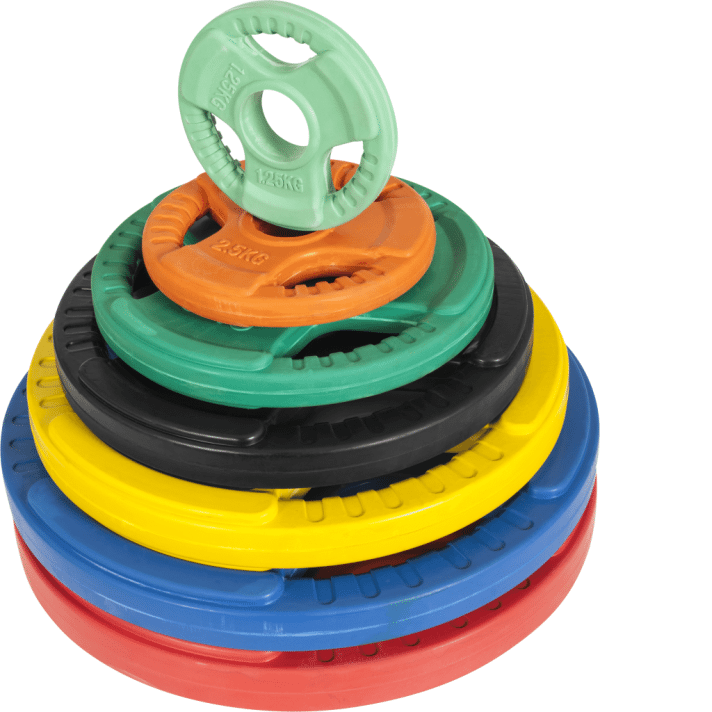 Olympic Rubber Bumper Vektskive 1,25 kg – 25 kg