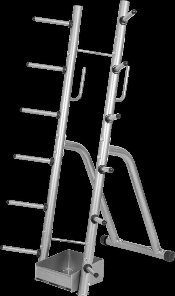 Aerobic Barbell- og Vektskivestativ