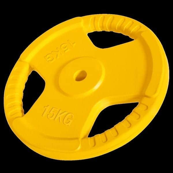 Rubber-Coated Grip - Vektskive 1,25 kg – 25 kg