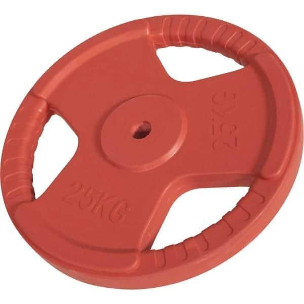 Rubber-Coated Grip - Vektskive 1,25 kg – 25 kg
