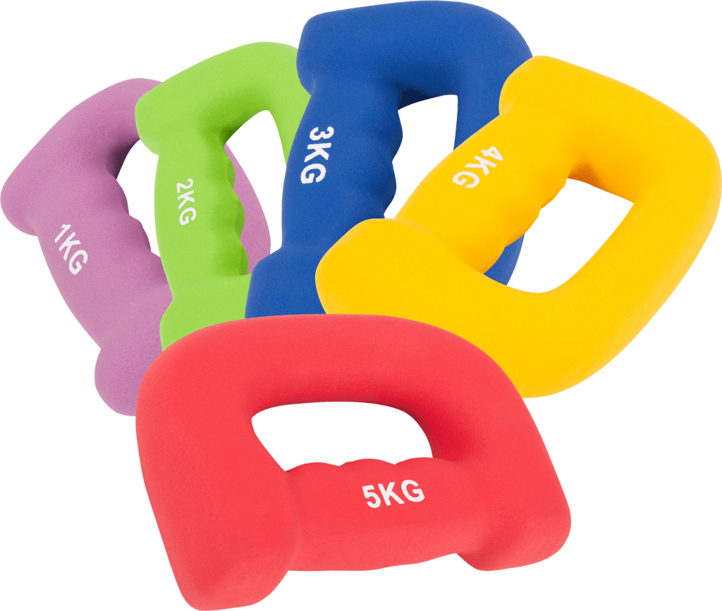 Neoprene Grip Hand Weights – Håndvekter par