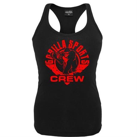 Gorilla Girls Crew Vest – Svart