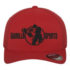 Gorilla Sports Tactell Mesh Caps – Rød