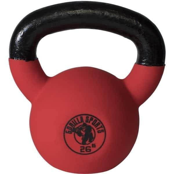 Rubber Coated Kettlebell – 4 kg – 32 kg