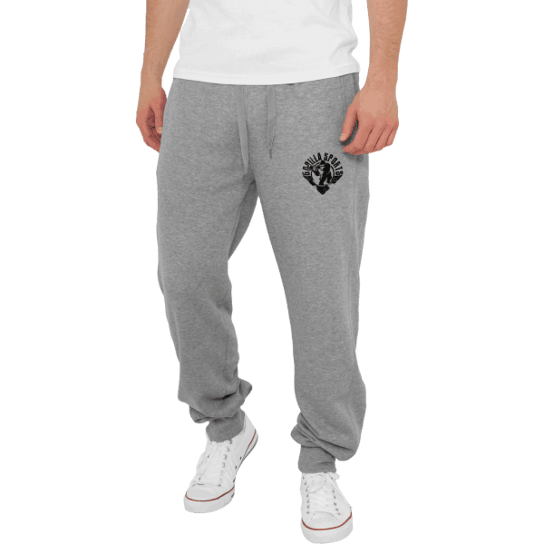 Straight Fit Sweatpants – Grå