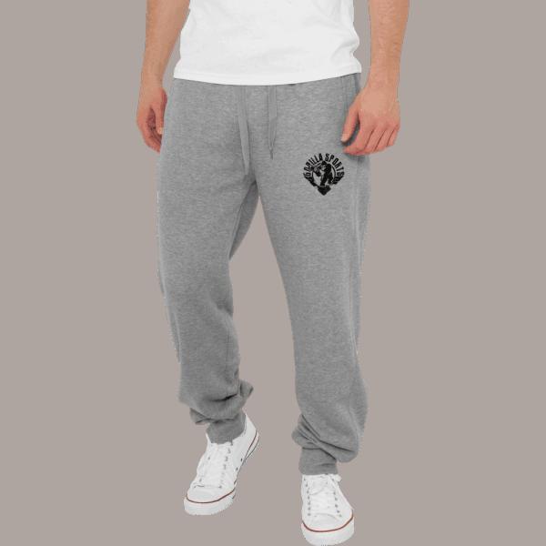 Straight Fit Sweatpants – Grå
