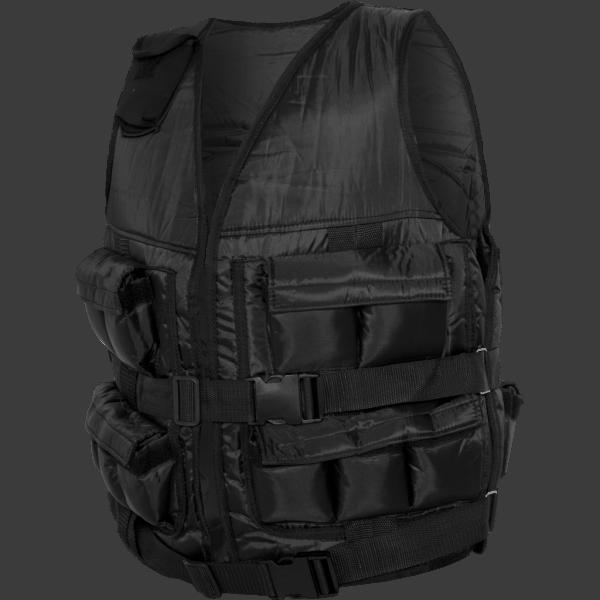 Weighted Vest – Sort 10 kg, 20, 30 kg