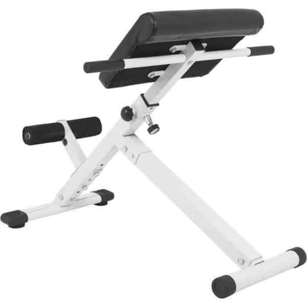 Sammenleggbart stativ for mage- og ryggtrening