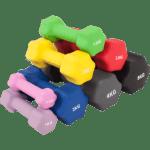 Neoprene Dumbbells Par 1 - 10 kg
