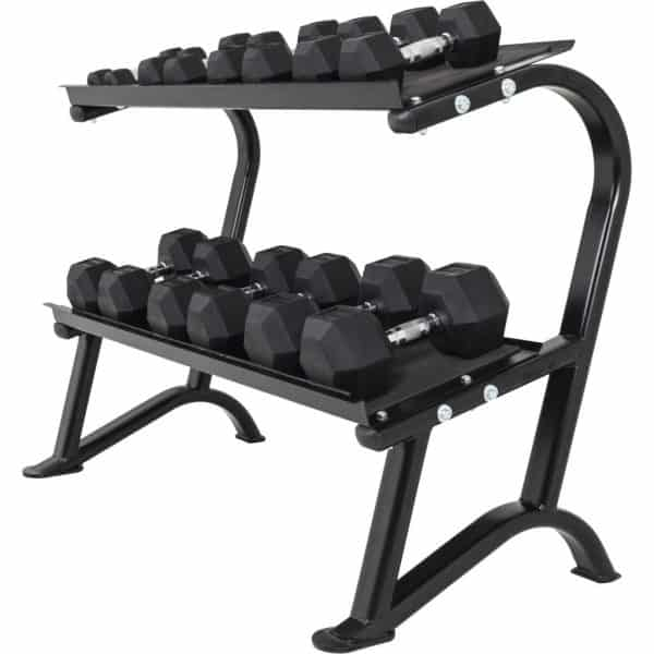 Dumbbells Stativ sort