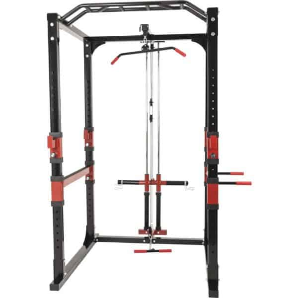Powerlifting Station Rack inkl. Nedtrekk