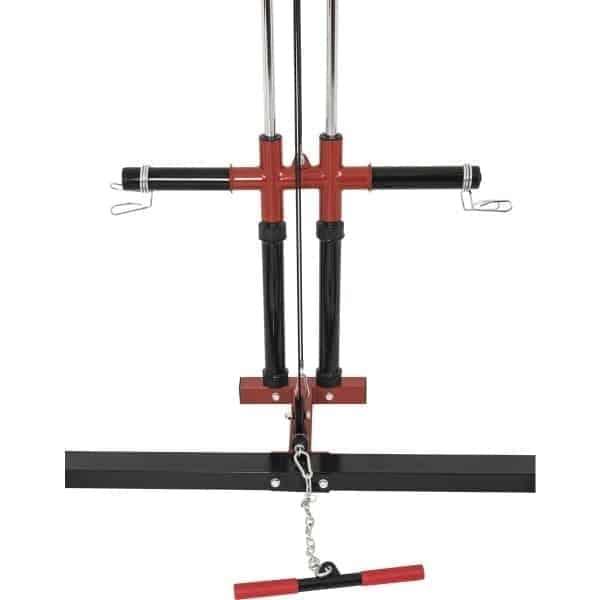 Powerlifting Station Rack inkl. Nedtrekk